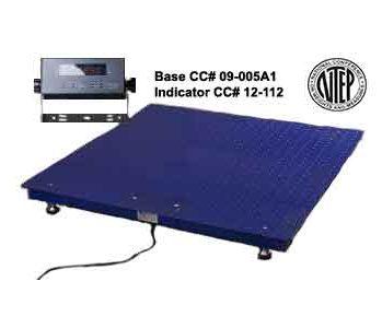 floor scale-indicator NTEP package