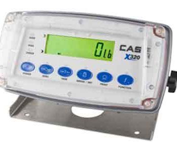 X320 scale indicator CAS