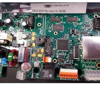 GSE-460 GSE-465 main board