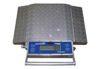 PT-300 PT-300DW Cas RW wheel load axel scales