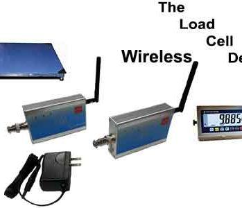 Wireless floor scales, wireless scales 433Mhz wireless scale