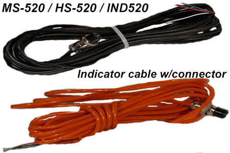 livestock scale MS-520 HS-520 cable